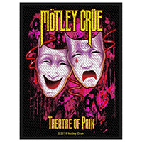 Motley Crue- Theatre Of Pain Woven Patch (ep148)