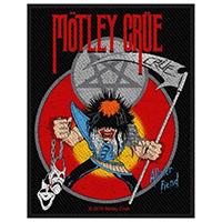 Motley Crue- Allister Fiend Woven Patch (ep78)