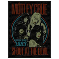 Motley Crue- Shout At The Devil Woven Patch (ep476)