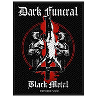Dark Funeral- Black Metal woven patch (ep447) (Import)