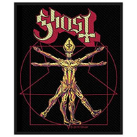 Ghost- Vitruvian Woven patch (ep445) (Import)