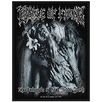 Cradle Of Filth- The Principle Of Evil Made Flesh woven patch (ep183) (Import)