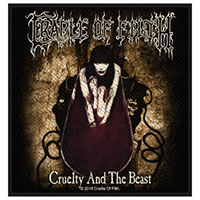 Cradle Of Filth- Cruelty And The Beast woven patch (ep423) (Import)