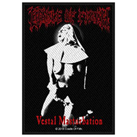 Cradle Of Filth- Vestal Masturbation woven patch (ep416) (Import)