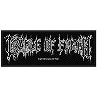 Cradle Of Filth- Logo woven patch (ep682) (Import)