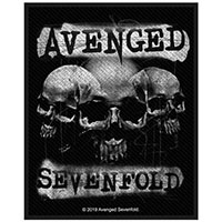 Avenged Sevenfold- 3 Skulls Woven Patch (ep119) (Import)