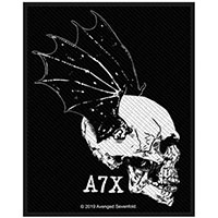 Avenged Sevenfold- Winged Skull Woven Patch (ep123) (Import)