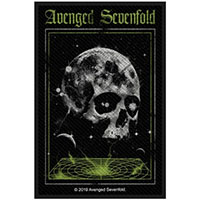 Avenged Sevenfold- Vortex Skull Woven Patch (ep175) (Import)