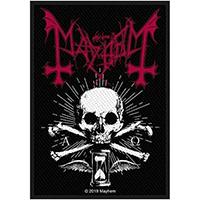 Mayhem- Alpha Omega Daemon Woven Patch (ep610)