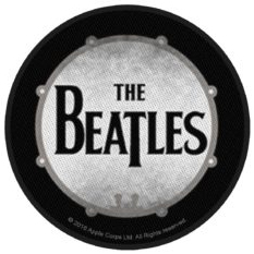 Beatles- Drum Logo Woven Patch (ep664)