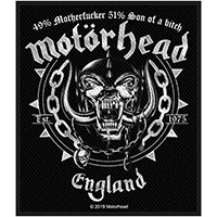 Motorhead- Ball & Chain Woven Patch (ep727) (Import)