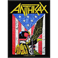 Anthrax- Judge Dredd Woven Patch (ep1058)