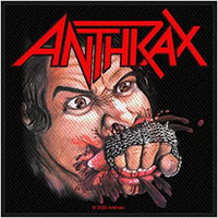 Anthrax- Fistful Of Metal Woven Patch (ep1059)