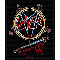 Slayer- Haunting The Chapel 1985 woven patch (ep547) (Import)