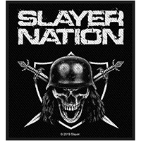 Slayer- Slayer Nation woven patch (ep442) (Import)