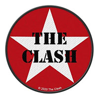 Clash- Star Logo Woven patch (ep1054)