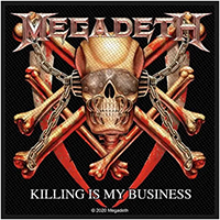 Megadeth- Killing Is My Business Woven Patch (ep632) (Import)