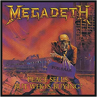 Megadeth- Peace Sells Woven Patch (ep633) (Import)