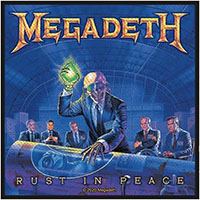 Megadeth- Rust In Peace Woven Patch (ep1053) (Import)