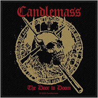 Candlemass- The Door To Doom woven patch (ep1057) (Import)