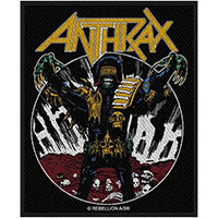 Anthrax- Judge Death Woven Patch (ep1051)