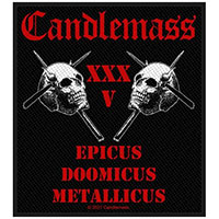 Candlemass- 35th Anniversary woven patch (ep608) (Import)