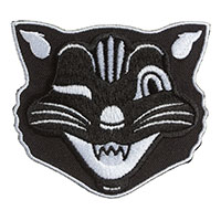 Jinx Vintage Halloween Cat Embroidered Patch by Sourpuss (ep970)