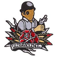 Ultraviolence Embroidered Patch by Sourpuss (ep215)