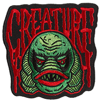 Creature Embroidered Patch by Sourpuss & Dumb Junk (ep341)