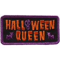 Halloween Queen Embroidered Patch by Sourpuss (ep340)