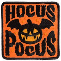 Hocus Pocus Embroidered Patch by Sourpuss (ep339)