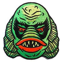 Creature #2 Embroidered Patch by Sourpuss & Dumb Junk (ep57)