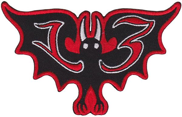 Bat 13 Embroidered Patch by Sourpuss (ep671)