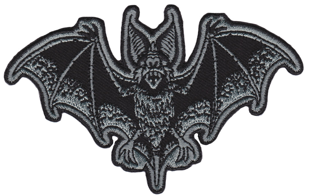 Bat Batt Attack Embroidered Patch  - from Sourpuss  (EP748)