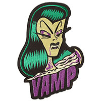 Oversized Vamp Embroidered Back Patch by Sourpuss