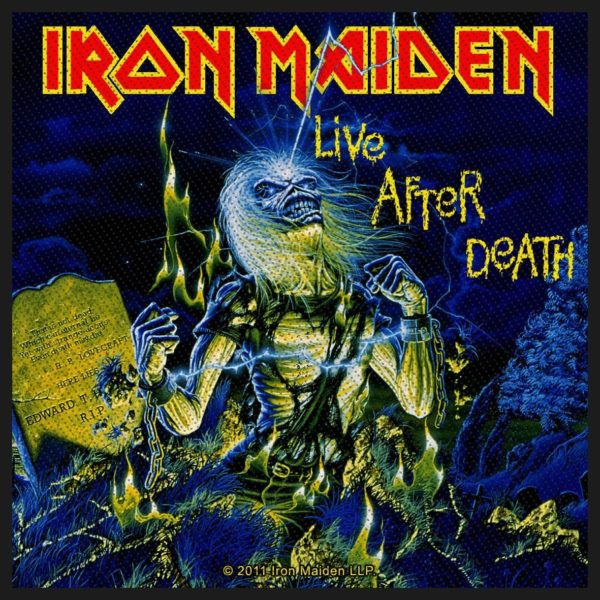 Iron Maiden- Live After Death Woven Patch (ep849) (Import)