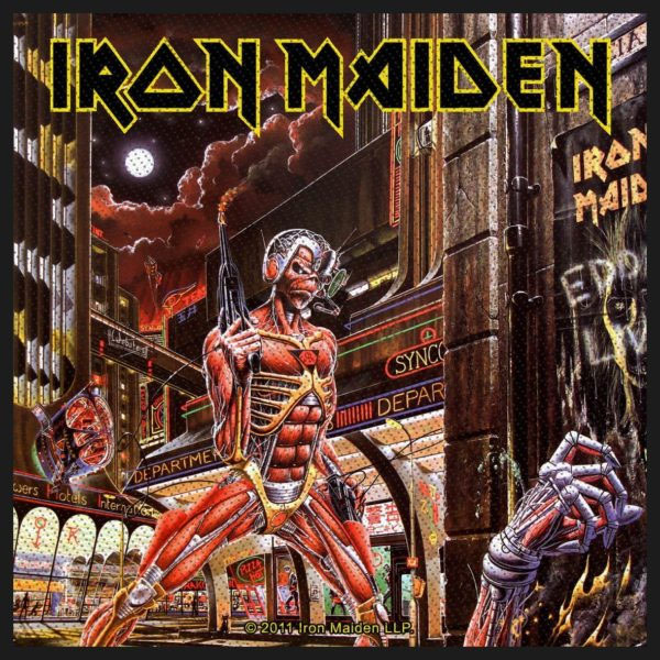 Iron Maiden- Somewhere In Time Woven Patch (ep848) (Import)