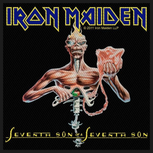 Iron Maiden- Seventh Son Woven Patch (ep847)