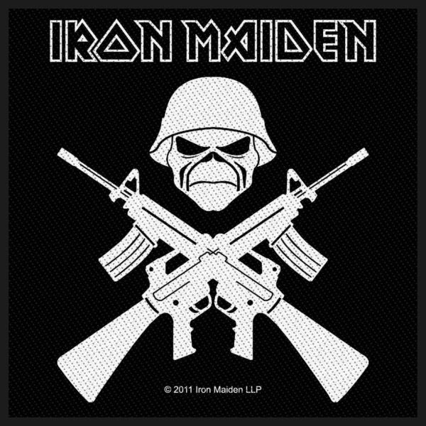 Iron Maiden- A Matter Of Life And Death Woven Patch (ep846) (Import)