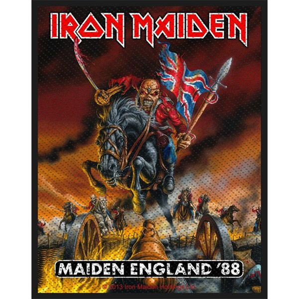 Iron Maiden- Maiden England '88 Woven Patch (ep844)