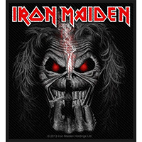 Iron Maiden- Eddie Candle Finger Woven Patch (ep908)