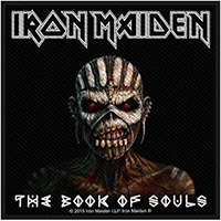Iron Maiden- The Book Of Souls Woven Patch (ep907)