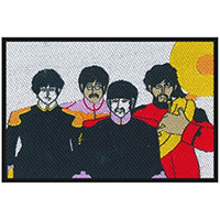 Beatles- Yellow Submarine Band Woven Patch (ep139)