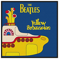 Beatles- Yellow Submarine Woven Patch (ep138)