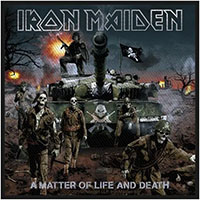 Iron Maiden- A Matter Of Life And Death Woven Patch (ep1060) (Import)