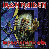 Iron Maiden- No Prayer For The Dying Woven Patch (ep1061)