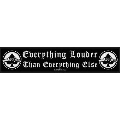 Motorhead- Everything Louder Than Everything Else Superstrip Patch (ep428) (Import)
