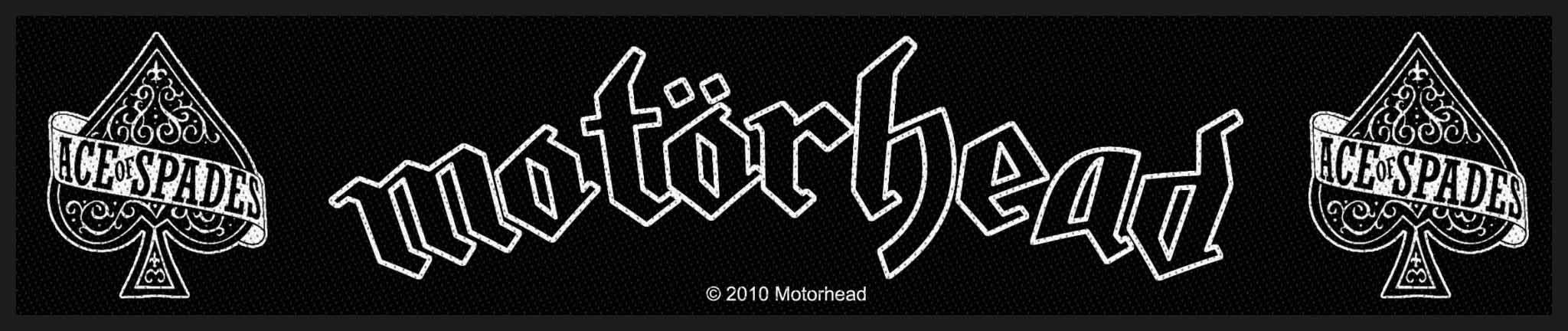 Motorhead- Ace Of Spades Woven Superstrip Patch (ep564) (Import)
