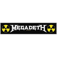Megadeth- Logo Superstrip Woven Patch (ep651) (Import)