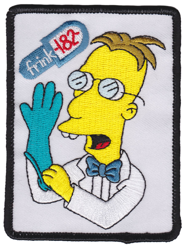 Frink 182 Embroidered Patch by Thrillhaus (ep639)